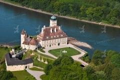 Schloss Schönbühel - Luftaufnahme